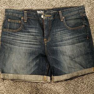 Mossimo Boyfriend Jean Shorts